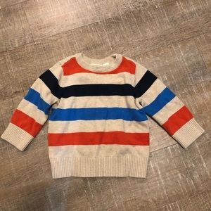 Baby knit pullover sweater